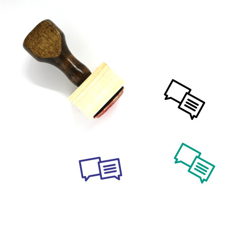 Customer Reviews Wooden Rubber Stamp No. 10