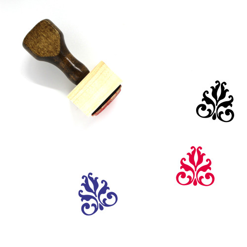 Embellishment Wooden Rubber Stamp No. 3