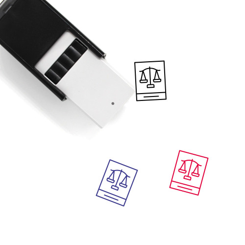 Law Self-Inking Rubber Stamp No. 276