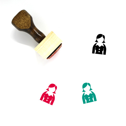 Executive Wooden Rubber Stamp No. 13