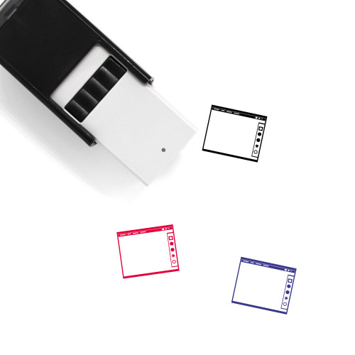 Operating System Layout Self-Inking Rubber Stamp No. 12
