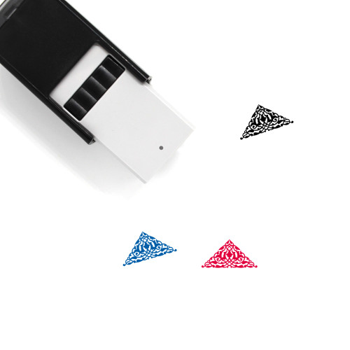 Ornament Self-Inking Rubber Stamp No. 184