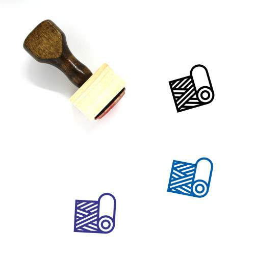 Sample Wooden Rubber Stamp No. 16
