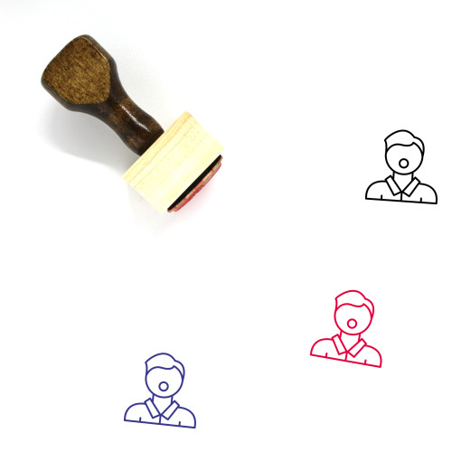 Advocate Wooden Rubber Stamp No. 2