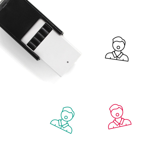 Advocate Self-Inking Rubber Stamp No. 2