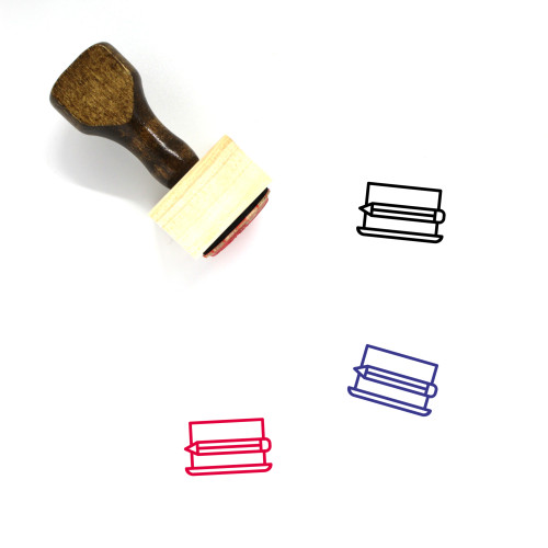 Analysis Wooden Rubber Stamp No. 70