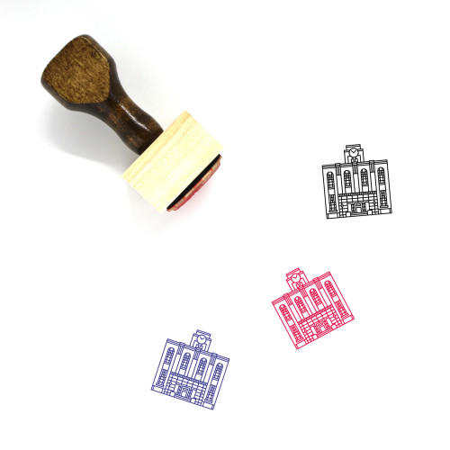 Kyoto University Wooden Rubber Stamp No. 1