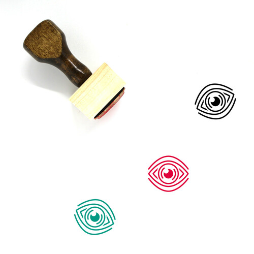See Wooden Rubber Stamp No. 30