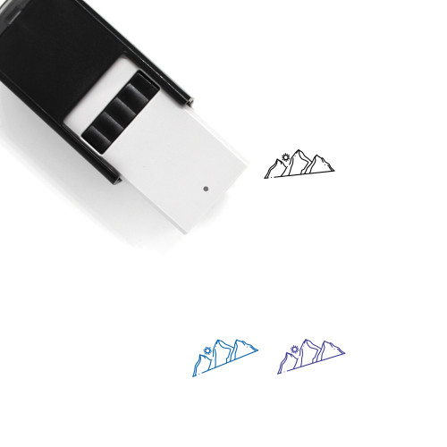Hill Self-Inking Rubber Stamp No. 28