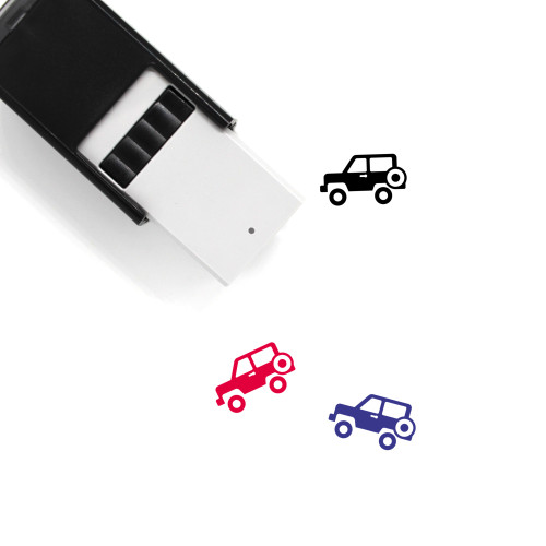 Jeep Self-Inking Rubber Stamp No. 44