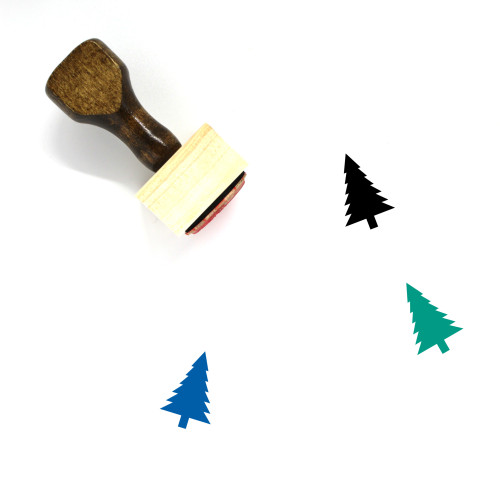 Tree Wooden Rubber Stamp No. 346