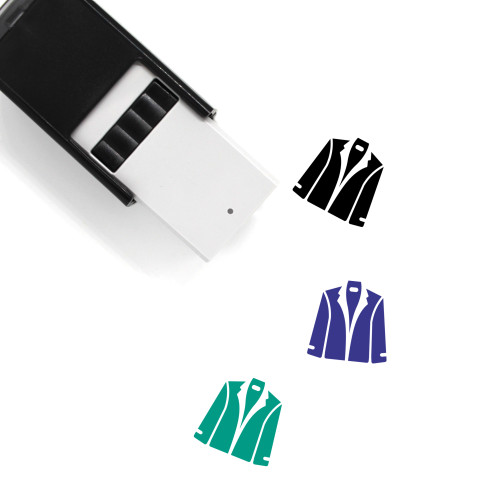 Jacket Self-Inking Rubber Stamp No. 95