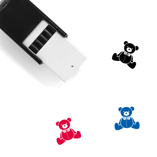 Teddy Bear Self-Inking Rubber Stamp No. 67