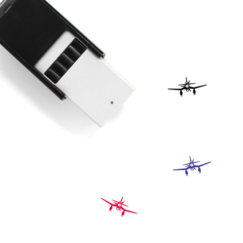Airplane Self-Inking Rubber Stamp No. 339