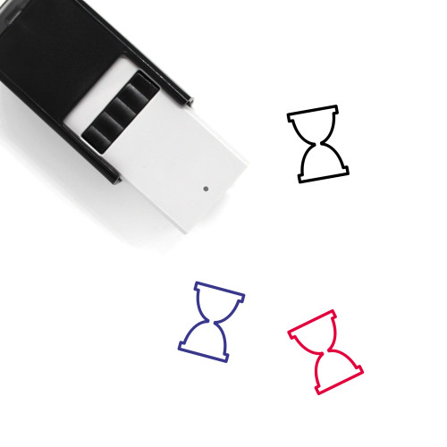 Hour Glass Self-Inking Rubber Stamp No. 42