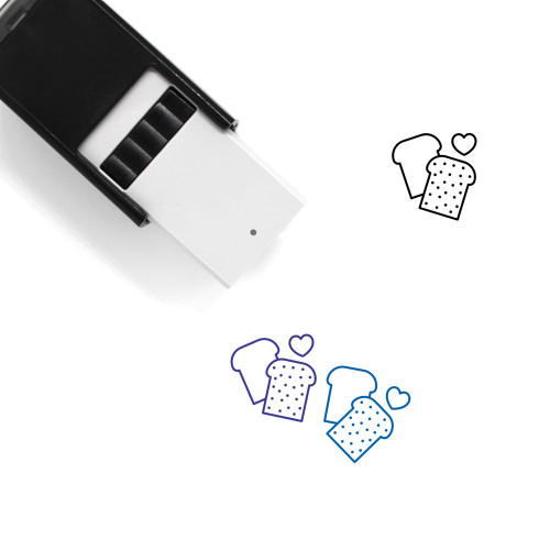 Health Food Self-Inking Rubber Stamp No. 3