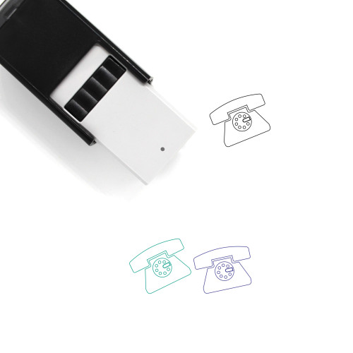 Telephone Self-Inking Rubber Stamp No. 111