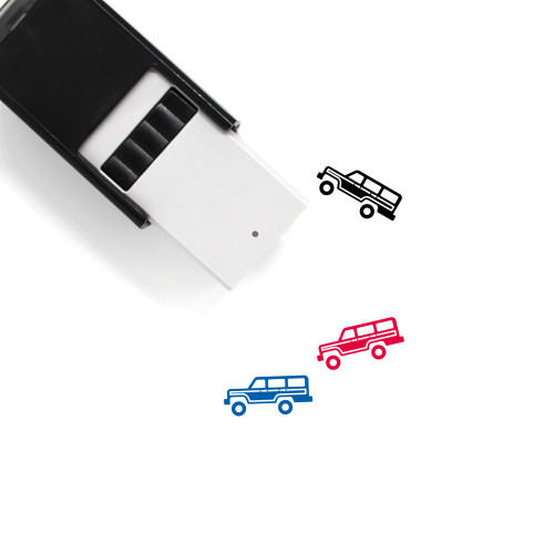 Jeep Self-Inking Rubber Stamp No. 45