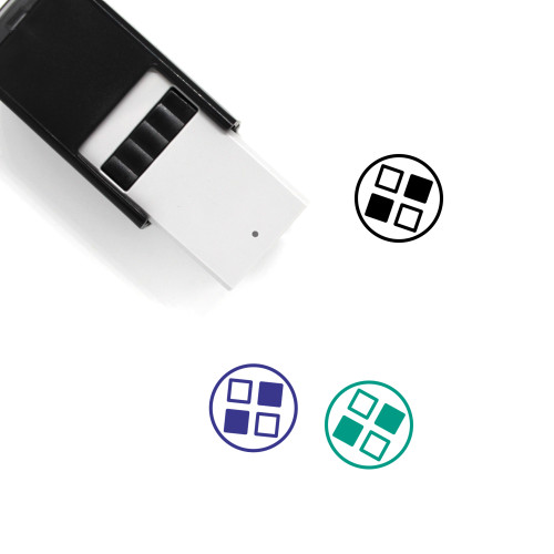 Applications Self-Inking Rubber Stamp No. 35