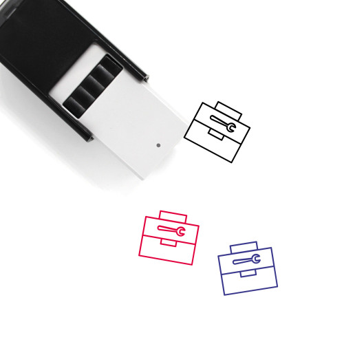 Tool Box Self-Inking Rubber Stamp No. 4