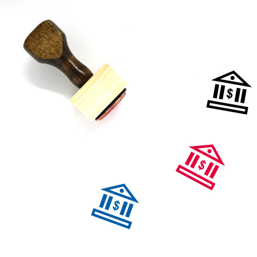 Banking Wooden Rubber Stamp No. 47