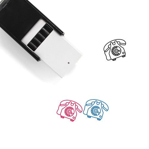Telephone Self-Inking Rubber Stamp No. 113