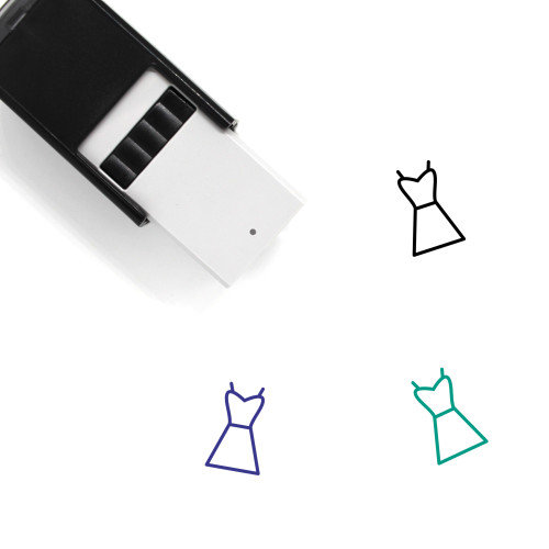 Dress Self-Inking Rubber Stamp No. 265