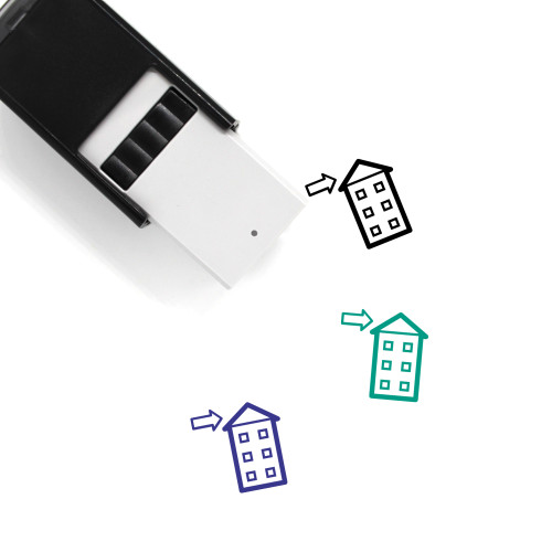 Roof Self-Inking Rubber Stamp No. 11