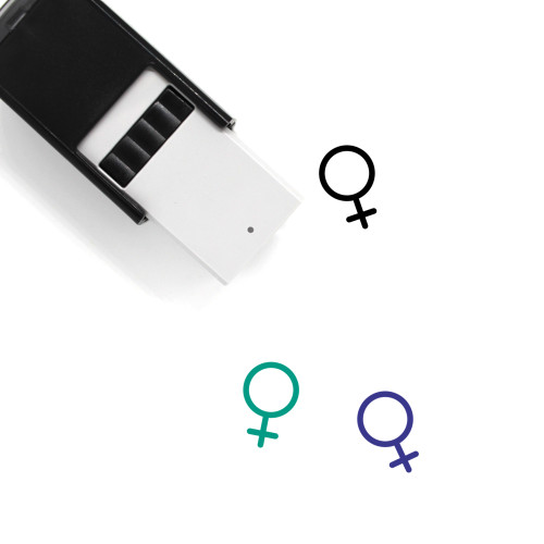 Female Self-Inking Rubber Stamp No. 254
