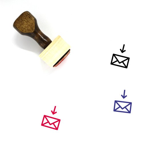 Email Wooden Rubber Stamp No. 140