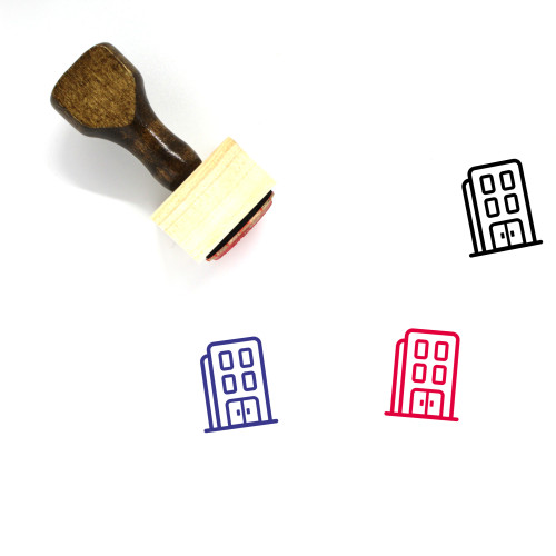 Office Wooden Rubber Stamp No. 84