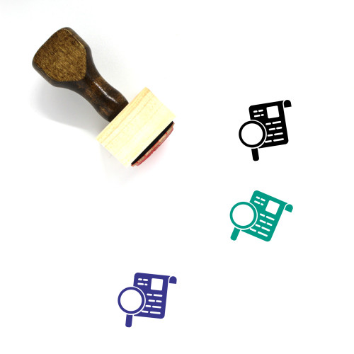 Search Results Wooden Rubber Stamp No. 28