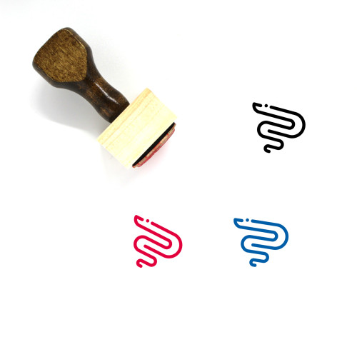 Acne Wooden Rubber Stamp No. 11