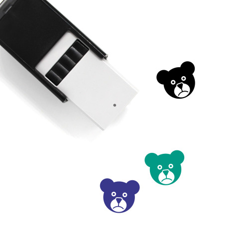 Bear Self-Inking Rubber Stamp No. 144