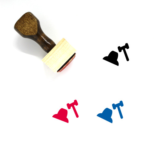 Legal Wooden Rubber Stamp No. 31