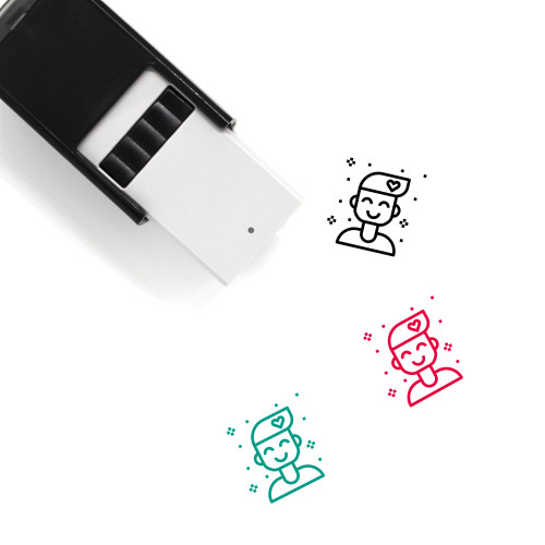 Attitude Self-Inking Rubber Stamp No. 1