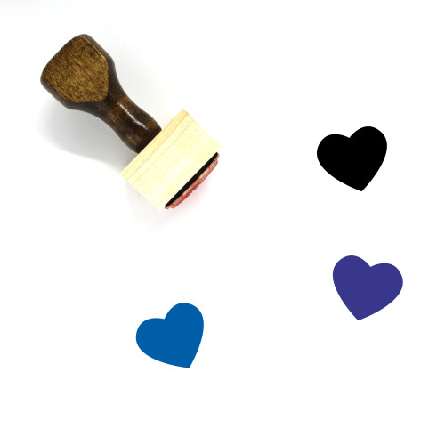 Love Wooden Rubber Stamp No. 645