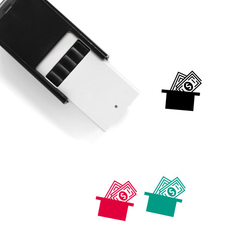 Money Collection Self-Inking Rubber Stamp No. 3