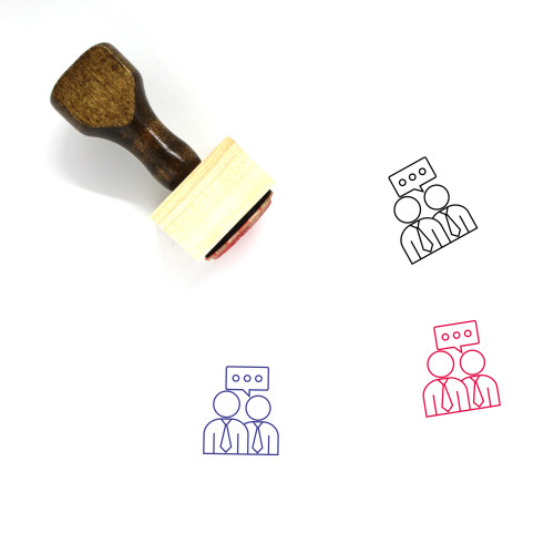 Guidance Wooden Rubber Stamp No. 2