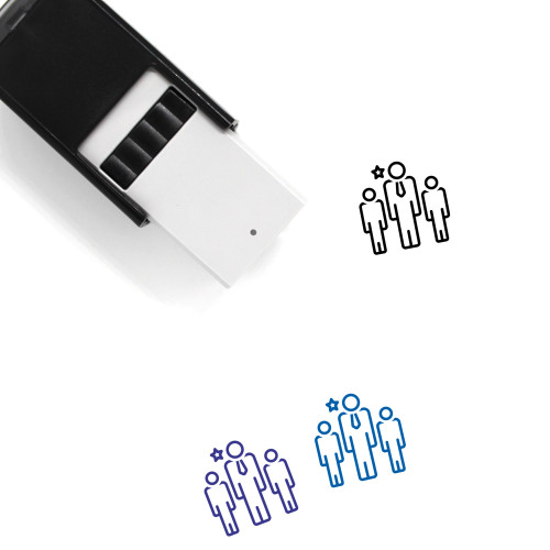 Leader Self-Inking Rubber Stamp No. 97
