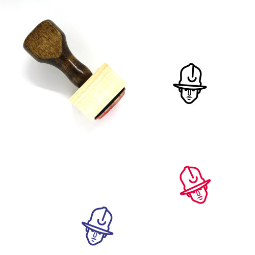 Pharrell Williams Wooden Rubber Stamp No. 1