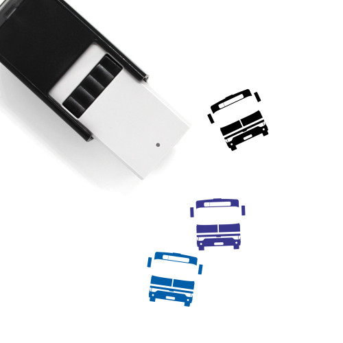 Bus Self-Inking Rubber Stamp No. 132