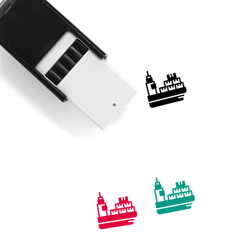 Naval Delivery Self-Inking Rubber Stamp No. 7