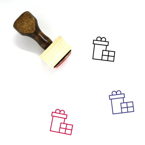 Gifts Wooden Rubber Stamp No. 39