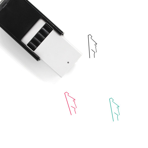Moai Self-Inking Rubber Stamp No. 20