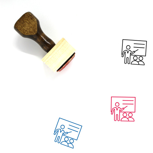 Training Wooden Rubber Stamp No. 45