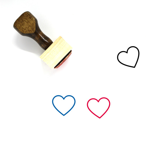Love Wooden Rubber Stamp No. 647