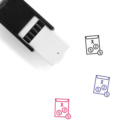 Donate Self-Inking Rubber Stamp No. 34