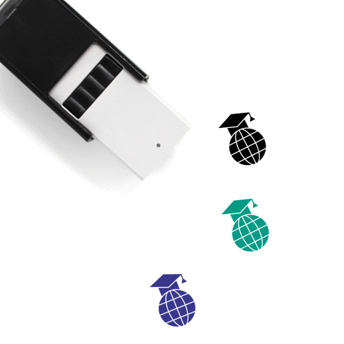 Academic Self-Inking Rubber Stamp No. 9