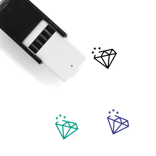 Laser Self-Inking Rubber Stamp No. 22